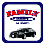 Family Car Service Icon