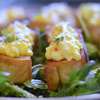 Egg Toast with Citrus Greens – Friendship Brunch
