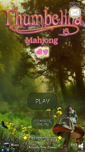 Hidden Mahjong: Thumbelina