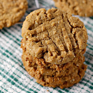 Flourless Peanut Butter Oat Cookies.