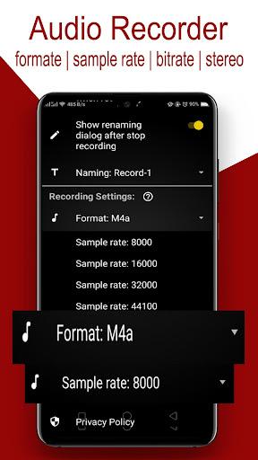 Audio Recorder screenshot 4