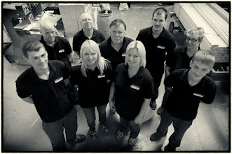 Photo: Here are a small section of our woodshop team