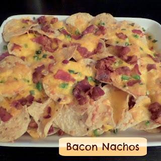 Bacon Cheese Nachos Recipes.