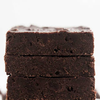 Healthy One-Bowl Chocolate Chunk Brownies.