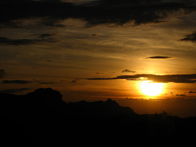 A Beautiful sunset in Pachmarhi, MP, India
