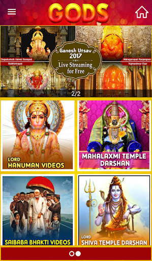 GODS - Live Darshan from Famous Temples by CANOPY