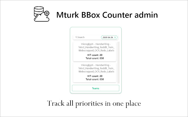 Mturk Admin(Thank You)