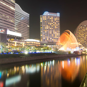 sakuragicho city by Irfan Maulana - City,  Street & Park  City Parks
