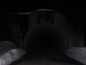 二時間掛けてようやくトンネル入口