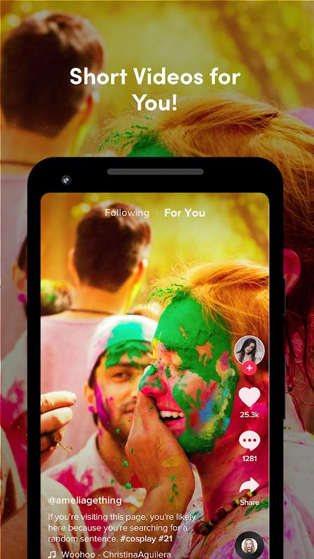 TikTok Lite screenshots