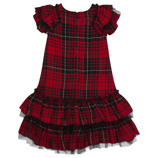Thumbnail images of Monnalisa Tartan Dress