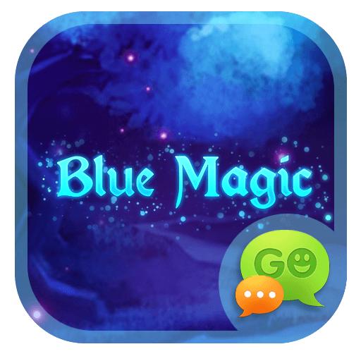 Blue Magic GO SMS 個人化 LOGO-玩APPs