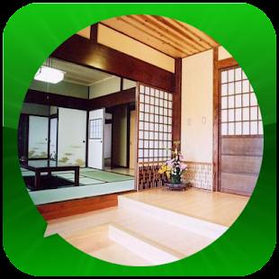 Model japonského domu - náhled