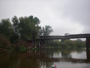 Photo: mało przejezdny mostek