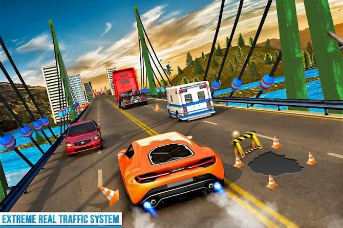 ?️ Traffic Car Highway Rush Racing Android 10