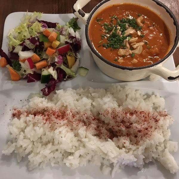 amazing vegan, gluten free curry