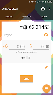 Altana - Bitcoin Wallet- screenshot thumbnail