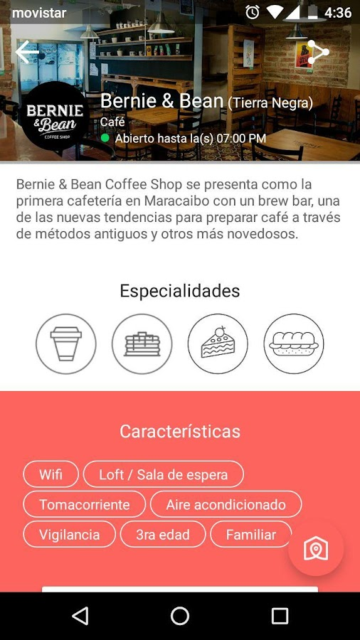 Yummy Club - Beta: captura de pantalla