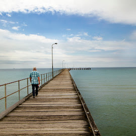 Rye Pier by Steven De Siow - Buildings & Architecture Bridges & Suspended Structures ( seascape, pier )