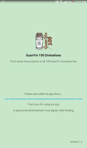 GuanYin 100 Divinations 1.4 screenshots 1