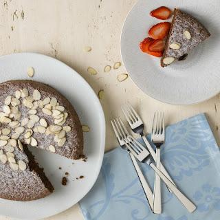 Chocolate Toasted Almond Torte recipe | Epicurious.com.