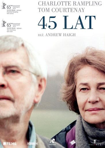 Przód ulotki filmu '45 Lat'