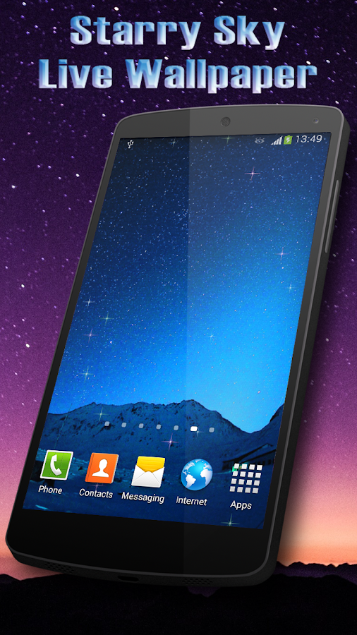 Starry Sky Live Wallpaper