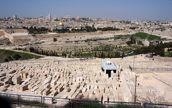 Photo: Mount of Olives grave site