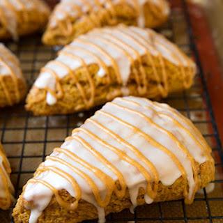 Pumpkin Scones {Starbucks Copycat}.