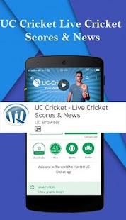 UC Cricket - Live Cricket Scores & News - náhled
