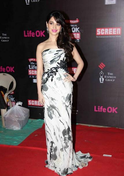 Tamannaah Bhatia at Screen Award 2013