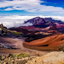 Maui Hawaii by DJ HOGG - Landscapes Travel ( sony, maui, volcano, retouching, photoshop 2016, color, landscape, digital, hawaii )