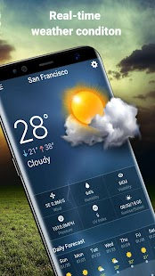 Local Weather Live Widget - náhled