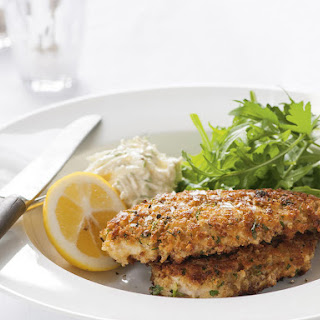 Chicken Cutlet with Celeriac Remoulade.