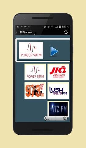 android Radio Singapore Screenshot 1