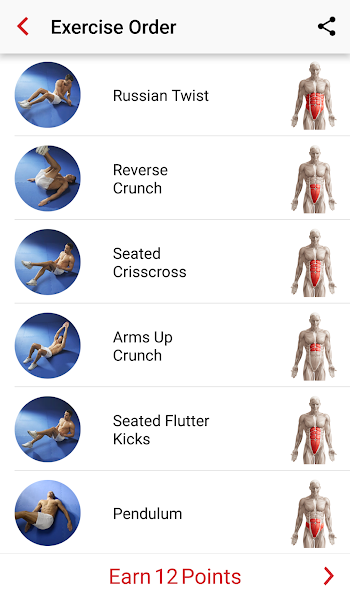 Adrian James 6Pack Abs Workout v1.0.2017010101 APK
