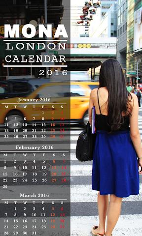 android My Photo Name Calendar Screenshot 1