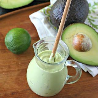 Dairy Free Avocado Crema