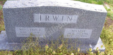 Photo: Irwin, Winston E. and Maxine