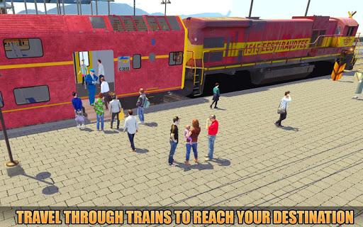 Indian Train Racing Simulator Pro: Train game 2019 image | 5