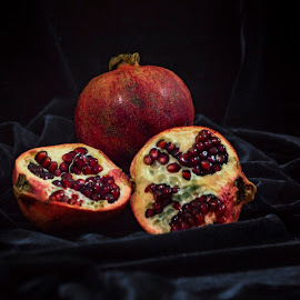 Pomegranate by Vaska Grudeva - Food & Drink Fruits & Vegetables (  )
