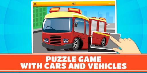 汽车和汽车儿童拼图
