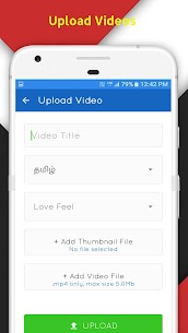 Tamil Love Video Status Songs App Download For Android and iPhone 7