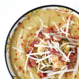 Healthy Broccoli Cauliflower Soup Recipes.
