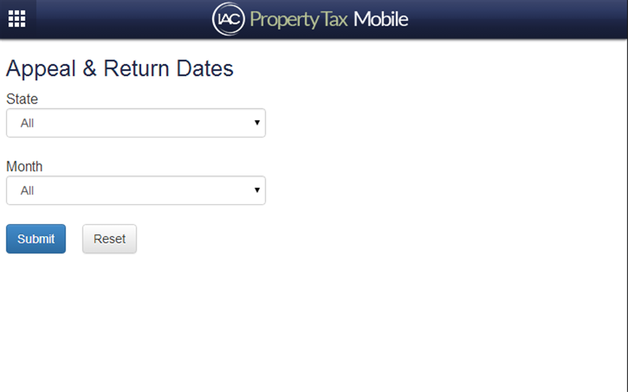 Property Tax Mobile- screenshot
