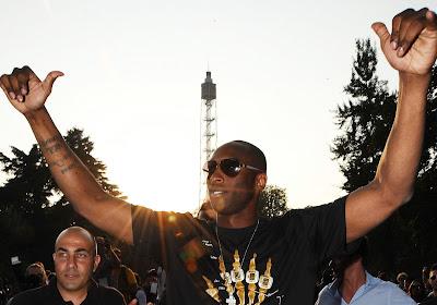 Un cador italien va rendre hommage à Kobe Bryant