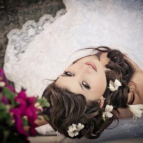 look by Iana Udrea - Wedding Bride ( look, woman, dress, bride, eyes )