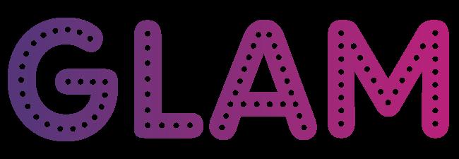 GLAM color logo