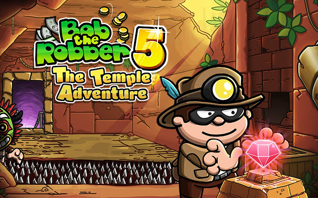 Bob The Robber 5 Temple Adventure Game
