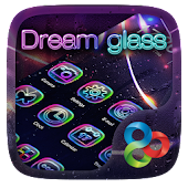 Dream glass GO Launcher Theme